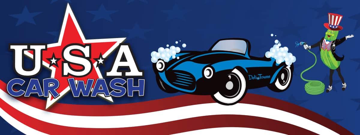 USA Car Wash header